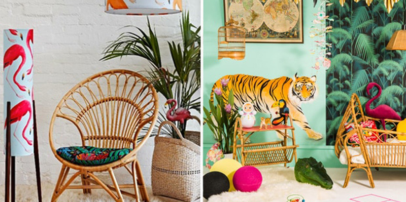 Tropical decoration, an unavoidable trend!   Cimenterie de la Tour
