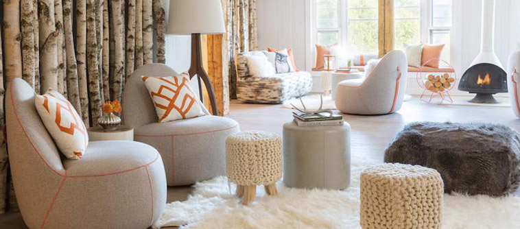 trend cocooning decoration in a living room