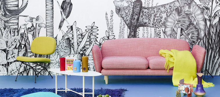 sojourn decoration with animals prints