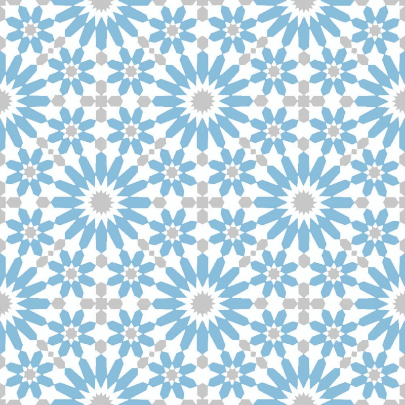 Blue and moroccan cement tiles by cement tiles co uk