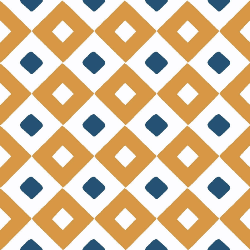 geometric and orange cement tiles by cement tiles co uk