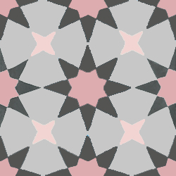 pink cement tiles