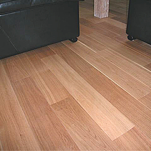 solid oak parquet in living room