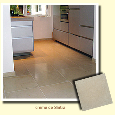 stone floor kitchen