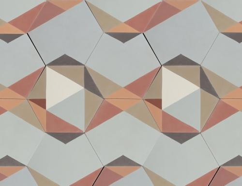 Cement tiles patchwork