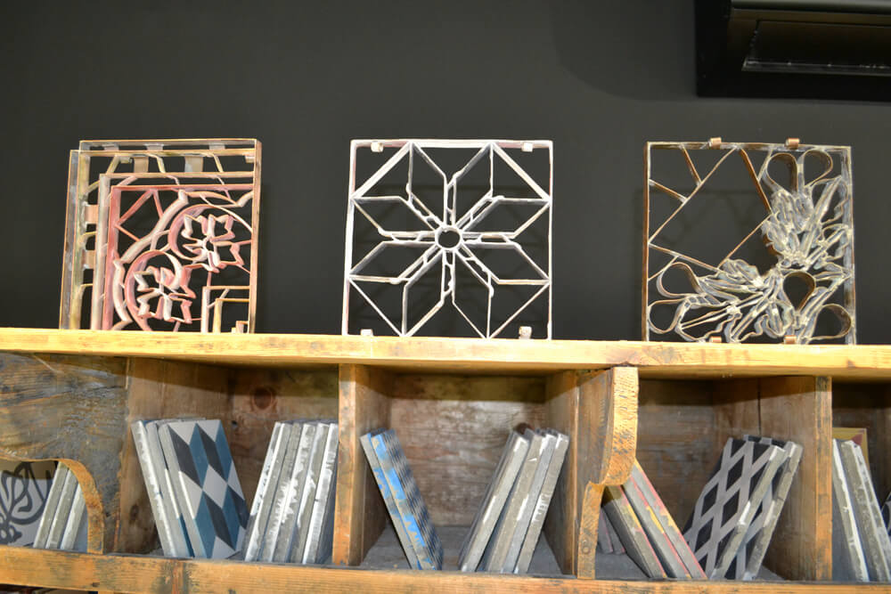 cement tile dividers