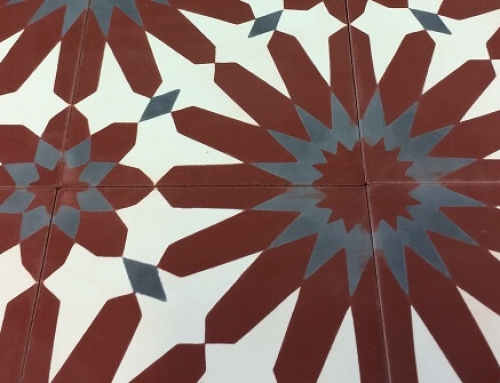 Cement tiles Paris