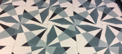 reproduction of old cement tiles