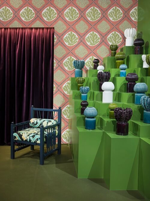 green and trend decoration