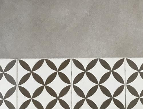 Cement tiles, what type of coating do they match?