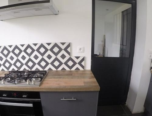How to have cement tiles as decorative elements?
