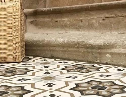Our advice for laying and treating cement tiles