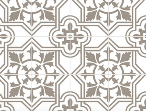 The 2021 cement tile trend
