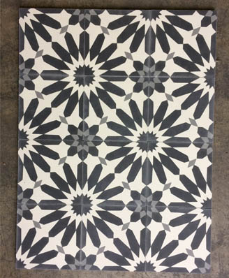 Floral cement tiles for living room in Cardiff England,Contemporary stil cement tiles for kitchen in Bristol England, Cimenterie de la Tour