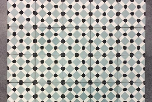 Cement tiles for kitchen wall in Coventry England, Cimenterie de la Tour
