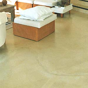 sojourn tinted concrete floor screed