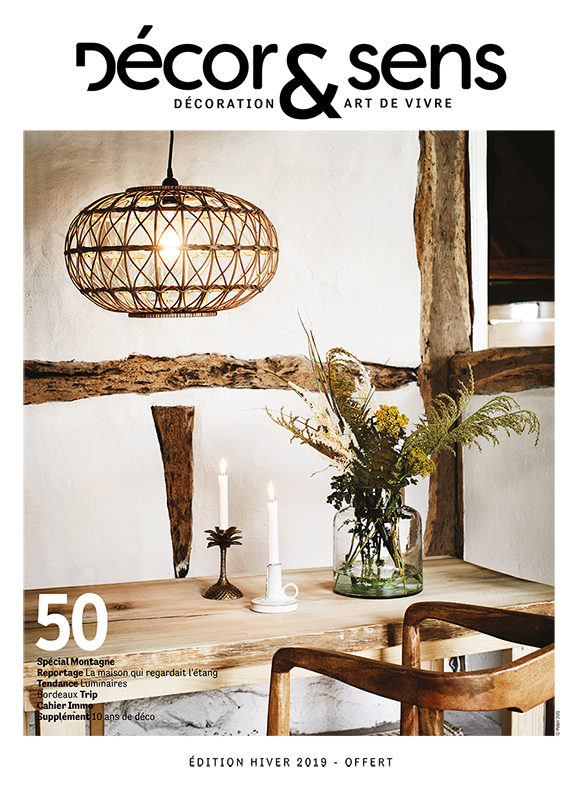 magazine for indoor and outdoor decoration